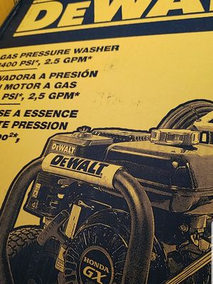 DEWALT _GAS PRESSURE WASHER 3400 PSI for Sale in Washington, DC