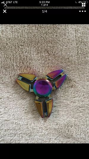Rainbow fidget spinner for Sale in New Lenox, IL