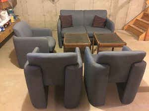 Waitingroom Or Living Room furniture with pillows and tables. for Sale in Nyack, NY