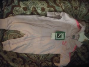 0-3 months puma outfits and diapers for Sale in Las Vegas, NV