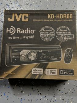 JVC KD-HDR60 car Stereo for Sale in Concord,  CA