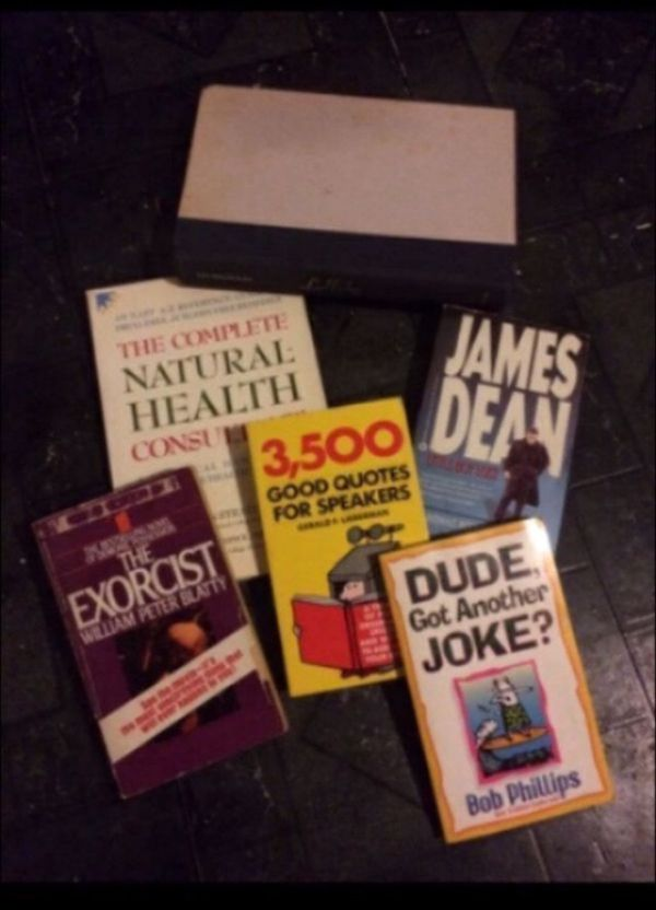 Lot of various types of books