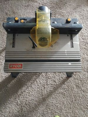 RYOBI Router Table for Sale in Dublin, GA
