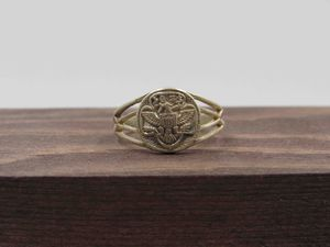 Size 6.5 Sterling Silver Rustic Bird Symbol Band Ring Vintage Statement Engagement Wedding Promise Anniversary Bridal Cocktail Friendship for Sale in Everett, WA