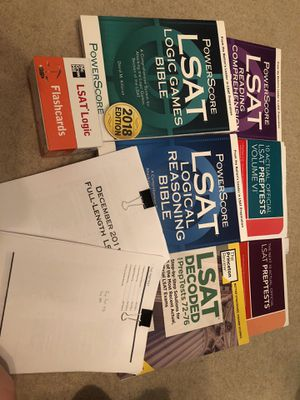 LSAT Prep Materials - Sold in Bundle or per Item for Sale in Chicago, IL