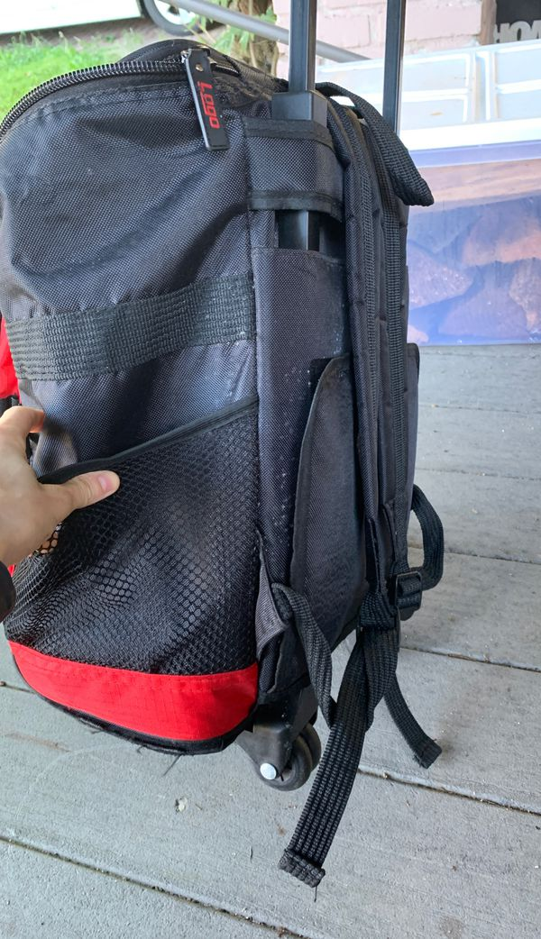 Backpack rolling cooler