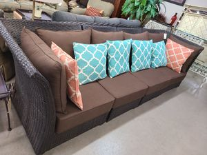 Patio Sectional 5 piece Sofa 😎 Another Time Around Furniture 2811 E. Bell Rd for Sale in Phoenix, AZ