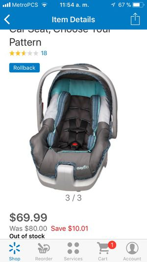 Infant car seat new in box for Sale in North Las Vegas, NV
