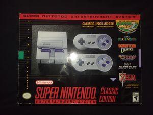 Super Nintendo Classic Edition for Sale in Tacoma, WA