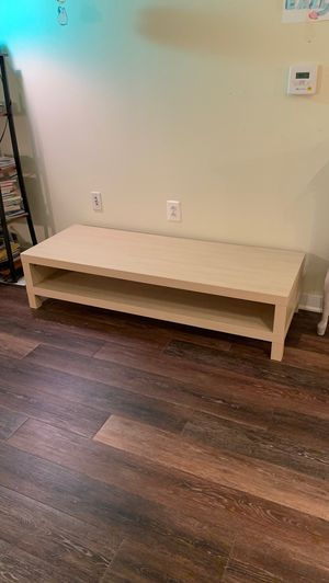 IKEA 201.053.41 Lack TV Stand, Birch for Sale in Arlington, VA