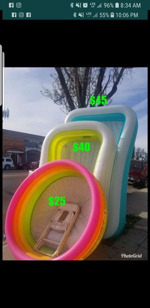 Intex pools new in box for Sale in Los Angeles, CA