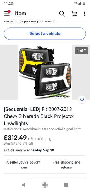 07-13 chevy headlights for Sale in Shreveport, LA