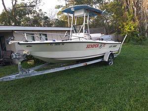 19' key West with a 150 Mariner EFI for Sale in Jacksonville, FL