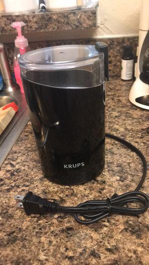 coffee grinder krups for Sale in Nashville, TN