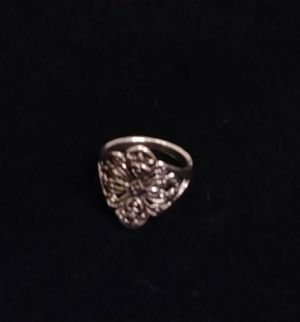 Tribal Silver Plated Ring Sizes 6 and 7 for Sale in South El Monte, CA