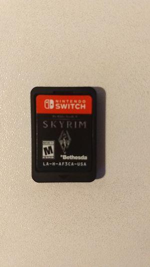 Skyrim, Nintendo Switch game for Sale in Lynnwood, WA