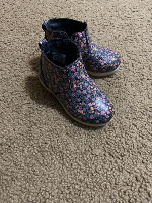 Osh kosh girls boots toddler size 7 for Sale in Portland, OR