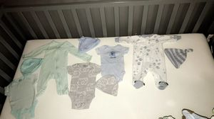 Newborn Clothes + Newborn Diapers && Wipes for Sale in Dallas, TX
