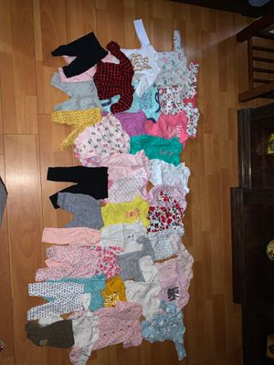 Baby girl clothes 0-3 months for Sale in Santa Ana, CA