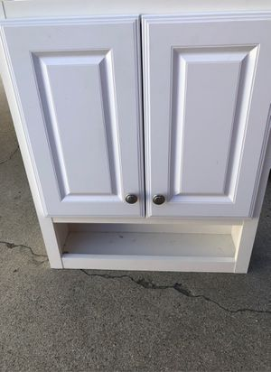 Wall cabinet with adjustable shelves for Sale in Rancho Cucamonga, CA