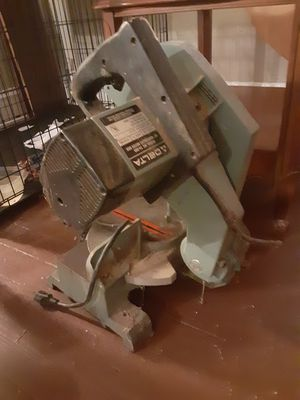 """Delta 10"""" motorized miter box for Sale in Cleveland, OH"""