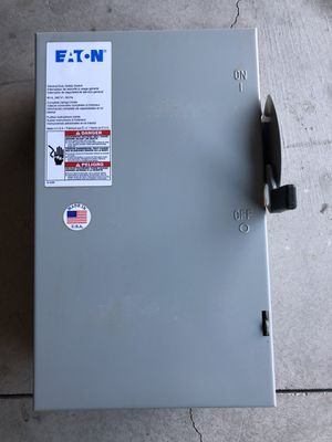 Disconnect Switch for Sale in Moreno Valley, CA