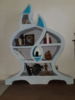 Homemade cardboard Bookcase for Sale in Las Vegas, NV