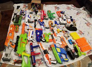Nerf gun lot for Sale in Riverside, CA