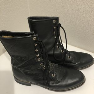 Black Horse Riding Boots Size 8 for Sale in Vista, CA