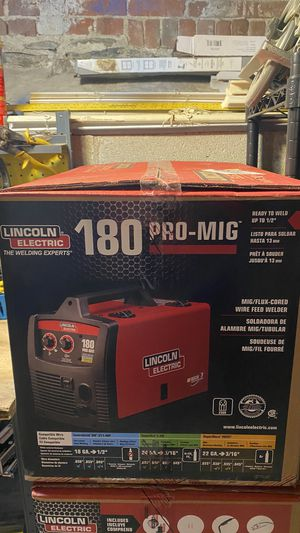 Lincoln 180 pro mig/flux corded welder for Sale in Grafton, MA
