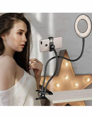Selfie Ring Light Clamp on, 10-Level Bri for Sale in Atlanta, GA