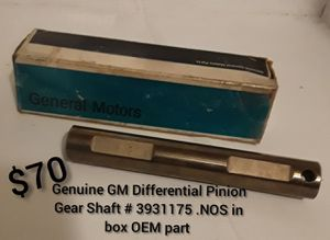 Genuine General Motors differential pinion gear shaft for Sale in Pittsburgh, PA