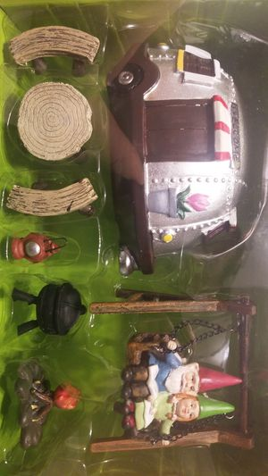 Fairy Garden camper set for Sale in Pawtucket, RI