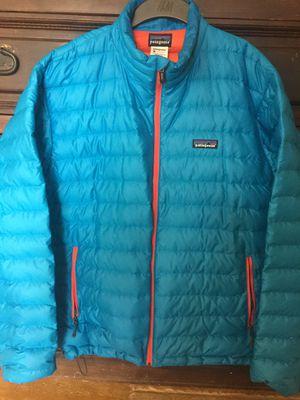 Patagonia Men's Down Sweater Light Blue Medium for Sale in Encinitas, CA