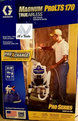 Graco Magnum Pro LTS 170 stand airless paint sprayer for Sale in Norwalk, CA
