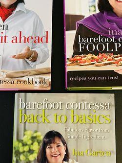 Ina Garten Cookbooks ($8 Each) for Sale in Anaheim,  CA