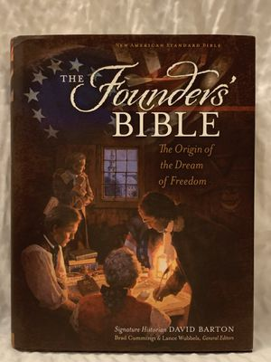 The Founders' Bible : The Origin of the Dream of Freedom by David Barton... for Sale in Dallas, GA