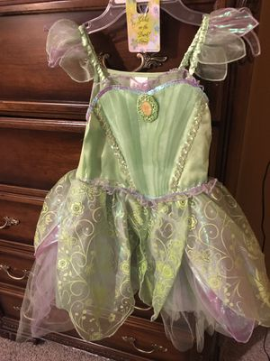 Tinkerbell costume size 7/8 for Sale in Las Vegas, NV