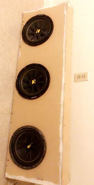 Speakers Kiker 10' for Sale in Stockton, CA