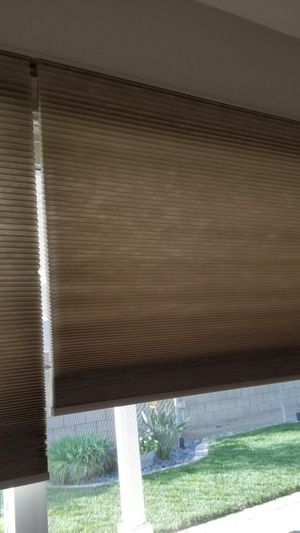 Cellular Shade for Sliding Door for Sale in Ontario, CA