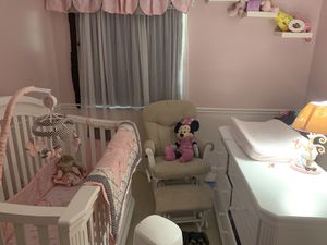 Baby crib and Dress for Sale in Deerfield Beach, FL