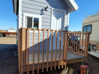 Tiny Home 20 Foot With Extended Porch And Awning. for Sale in Arvada,  CO