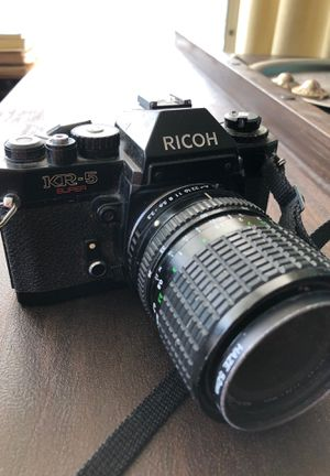 Ricoh KR-5 super camera that uses film for Sale in Chicago, IL