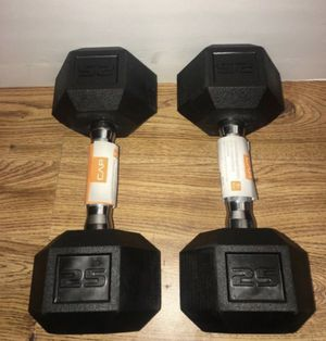Weights 25lb set of dumbbells for Sale in Covina, CA