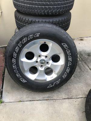 """OEM Jeep Wrangler JK Sahara Wheels, 18"""" for Sale in Largo, FL"""