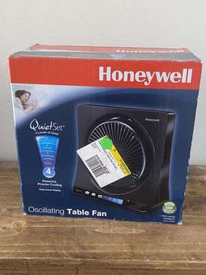 Honeywell QuietSet Table Fan (HT350B) for Sale in Orlando, FL