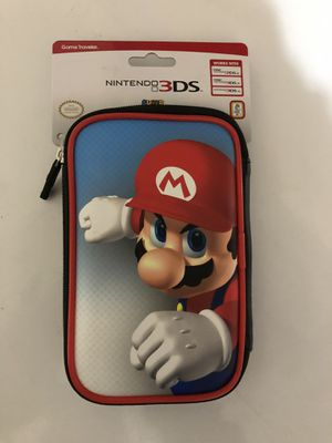 Nintendo 3DS Mario case for Sale in Albuquerque, NM