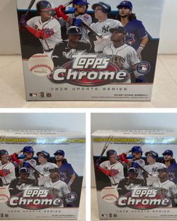 3x Topps Chrome 2020 Update Series (84 Cards) for Sale in Houston,  TX