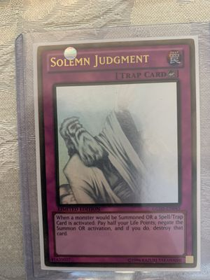 Solemn Judgement Gold Ghost Rare Limited Edition for Sale in Coral Gables, FL