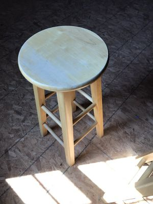 Set of Butcher Block Barstools for Sale in Apex, NC